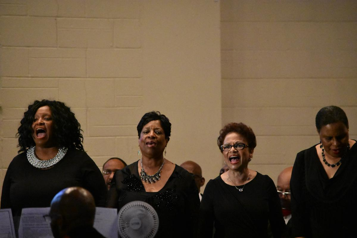 Choir performs during 125th Anniversary Musical Tribute